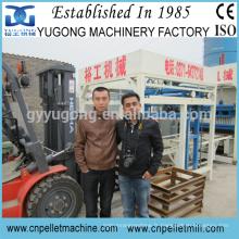 Yugong ciment / béton / mouchetage en briques en uganda