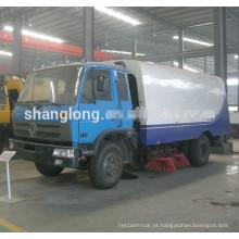 Para Venda 4X2 Road Sweeping Truck com tanque de lixo de 5000L