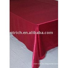 Satin Tischdecke, Bankett/Hochzeit Tisch decken, Tischwäsche