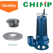 Wq (D) 1.1kw Cutting Impeller Sewage Electric Submersible Water Pump (WQD15-9-1.1QG)
