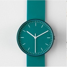 Homens de quartzo minimalistas relógio de pulso