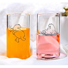 Vente en gros d'ours polaires Clear Cartoon Cup