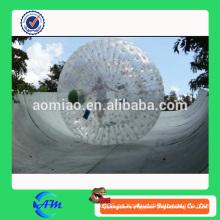 Nieve inflable zorb bola pelota inflable de césped para humanos