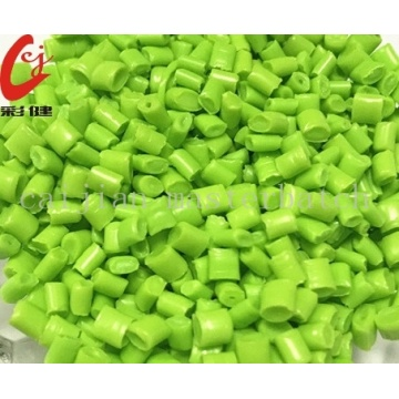 PET Green-kleur masterbatch-korrels