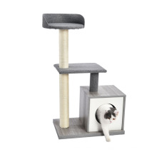 P2 Board Sisal Wholesale Climbing Condo Cat Tree Hanging Toy Modern And Unique Design