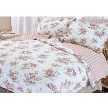 Сад печатных полиэстера домашнего текстиля лоскутное одеяло летнее одеяло (WSPQ-2016006)