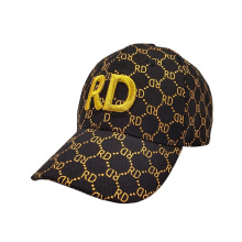 Factory Price  Customize Your Own Black Classic 6 Panel Sports Hats Gorras Custom Embroidery Logo Baseball Cap for Men
