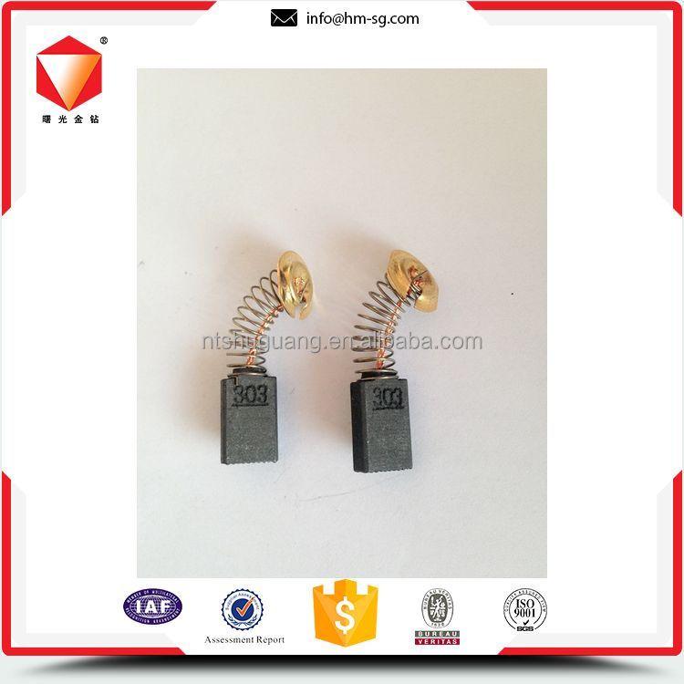 Customized wide range electric carbon brushes for drill