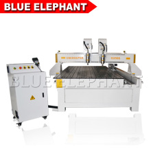 Multi-Heads CNC Router, 4 Axis CNC Miling Machine for Wood Panel, Door Making