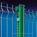 Schwerlastverzinkter gebogener geschweißter Maschen-PVC-Zaun, Maschendrahtzaunbefestiger