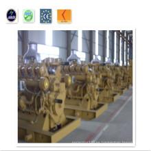 El generador de gas de la cama del carbón 120kw fijó 230V / 400V con el motor CUMMINS