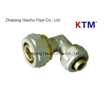 Ktm Brass Pipe Fitting - Equal Elbow for Pex-Al-Pex Pipe
