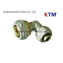 КТМ латунный штуцер трубы - равный локоть для PEX-Аль-PEX труб