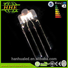 RoHS electronic components diffuse color lens 2mm led nipple led diode