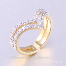 Latest Designs Couple Ring Gold Plating Wedding Rings