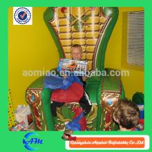 Melhor presente Trono inflável para crianças