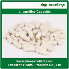 Cápsulas de L-Carnitina cápsulas de emagrecimento de alta qualidade