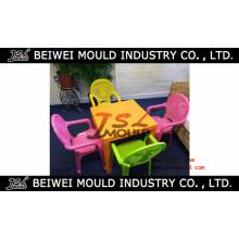 Moule et chaise de table en plastique pour enfants
