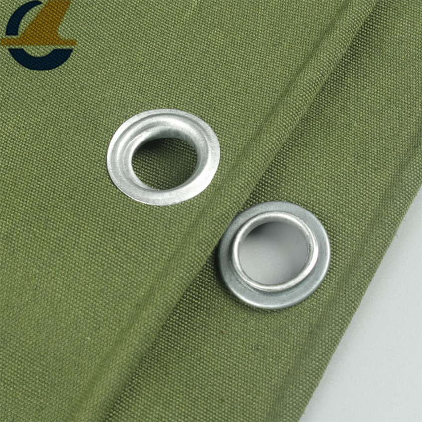 Army Green polyester canvas tarps