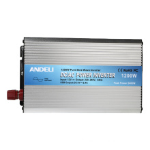 12V 24V 48V dc to ac 220V 1200W pure sine wave power inverter