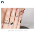 Finger Small Style Tattoo Sticker,Cute and Lovely Hand Sticker