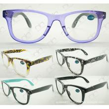 Double Colour Fashionable Eyewear for Unisex 2015 Reading Glasses (WRP504207)