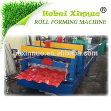 ХП-828 Глазурованной черепицы дешевые солнечные панели Китай Профилегибочная машина Производитель