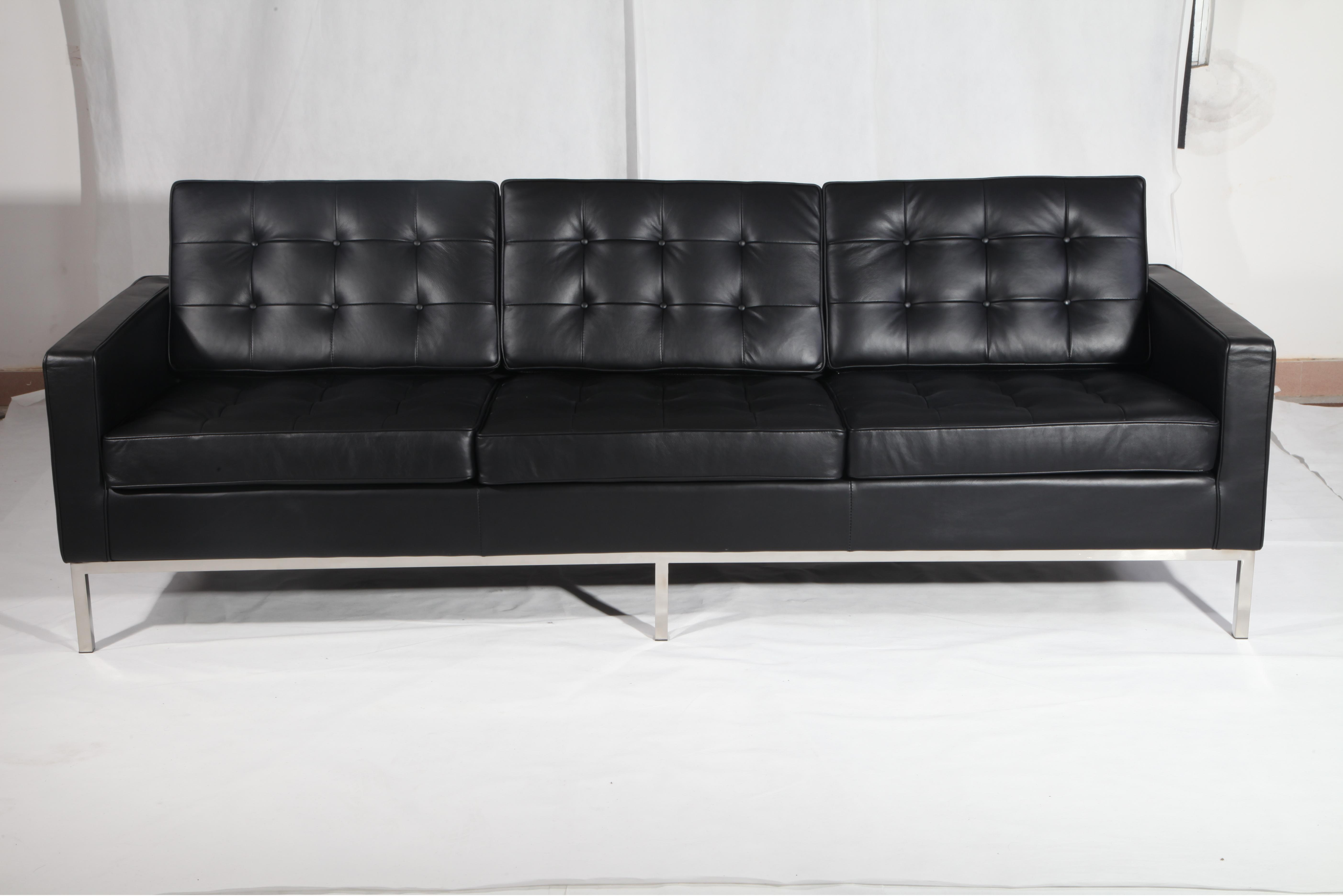 Florence knoll 3 seater sofa