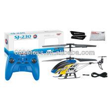 Hw brinquedos 3.5 canais de liga helicóptero rc