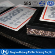 China cinta transportadora cinturón resistente de alta temperatura