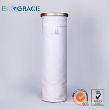 Bonne tenue à la stabilité de l'hydrolyse Pochette de filtration PE à collecteur de poussière