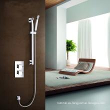 Juego de ducha de mano de válvula oculto y ducha termostática de vernet