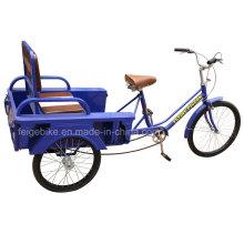 Pessoas idosas do assento dobrável triciclo de três rodas (FP-TRCY026)