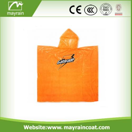 PE Disposable Waterproof Poncho