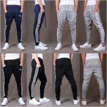 Man's Boy's Cotton Sports Pants Gym Casual Lange Hose