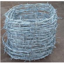 Longueur de fil barbelé en vrac 2 brins par rouleau