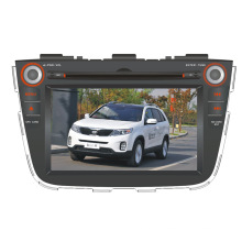 Dans Dash Navigation GPS pour KIA Sorento Car DVD Système Android