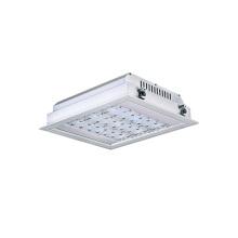 IP66 a mené l'appareil d'éclairage 120w d'auvent pour la lumière de station service de Canopy