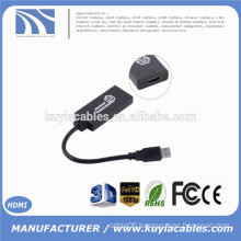 USB 3.0 to 1080P HDMI Adapter Converter Cable for HDTV TV Projector Monitor