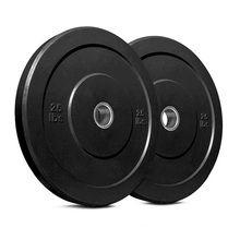 Weight Lifting Discs Barbell Weight Plate Rubber Bumper Plate