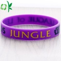 Eco-friendly Common Silicone Printing Logo Bracelet/Bangles