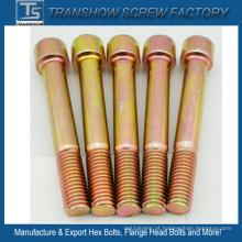 Parafuso principal redondo de alta elasticidade da categoria 10,9 do aço de liga