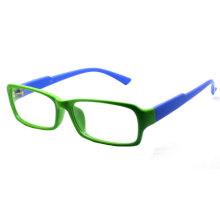 Color Square Woman Plastic Optical Frame