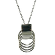 Qualität und Art und Weisefrauen Schmucksache-925 silberne Halskette (N6813)