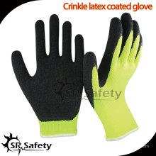 SRSAFETY 10 Gauge Polycotton Латексные защитные перчатки, БЕСПЛАТНЫЙ ОБРАЗЕЦ