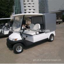 A produção de Excar 2 assenta o carro bonde do golfe com carga