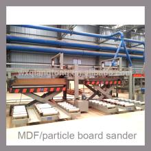 Zweikopf-Breitbandschleifmaschine für MDF / Spanplatten / HPL