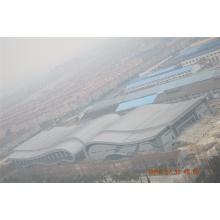 China Vorgefertigte Stahl Sturage Space Frame