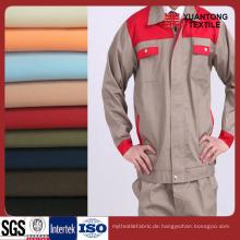Verschiedene Farbe 100% Baumwolle Twill Workwear Stoff