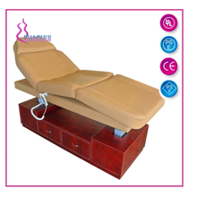Electric Massage Bed with Wood frame